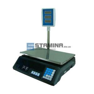 Весы торговые со стойкой ACS-S 35 кг 340х240 мм
