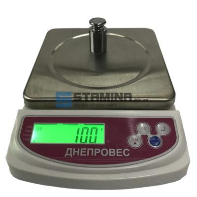Фасовочные весы ДІ 6 кг 155х155 мм