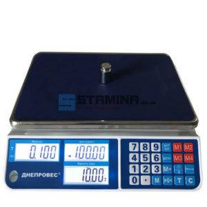 Торговые весы ВТД СЛ 335х230 мм 6 кг