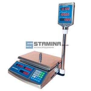 Торговые весы ВТД ЕЛС 300х215 мм 6 кг