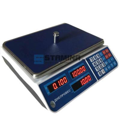 Торговые весы ВТД ЕЛ 335х230 мм 6 кг