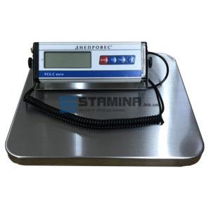 Весы товарные Днепровес FCS-С 150 кг 350х400 мм