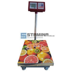 Товарные весы OXI со стойкой 450Х600 мм 300 кг