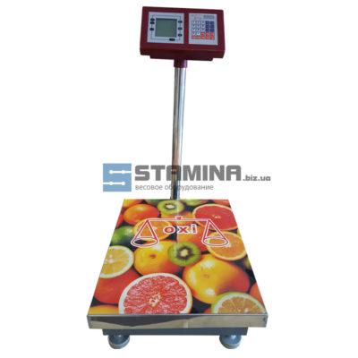 Товарные весы OXI со стойкой 300Х400 мм 150 кг