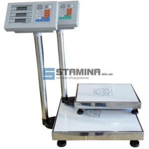 Товарные весы TCS со стойкой 400Х500 мм на 300 кг