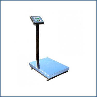 Товарные весы со стойкой и платформой