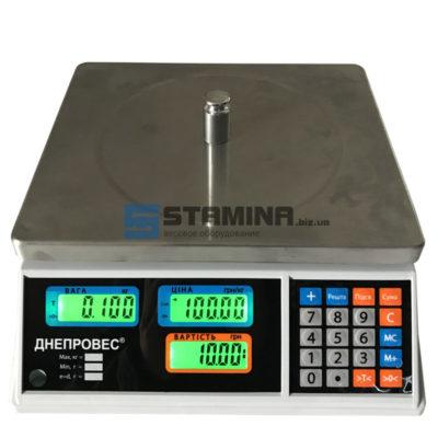 Весы торговые ВТД ЦЛ1 305х230 мм 6 кг