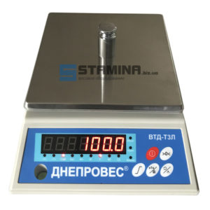 Весы фасовочные Днепровес ТЗЛ 1 кг 176х176 мм