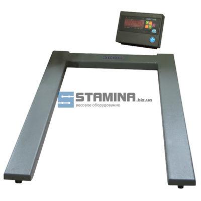 Паллетные весы ВПЕ А12L 300 кг 1200х800 мм