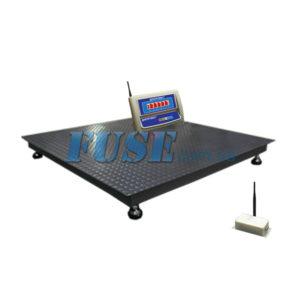 Платформенные беспроводные весы ВПД Р 1000х1000 мм на 500 кг