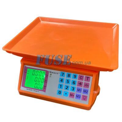 Торговые весы Nokasonic 240х345 мм 40 кг